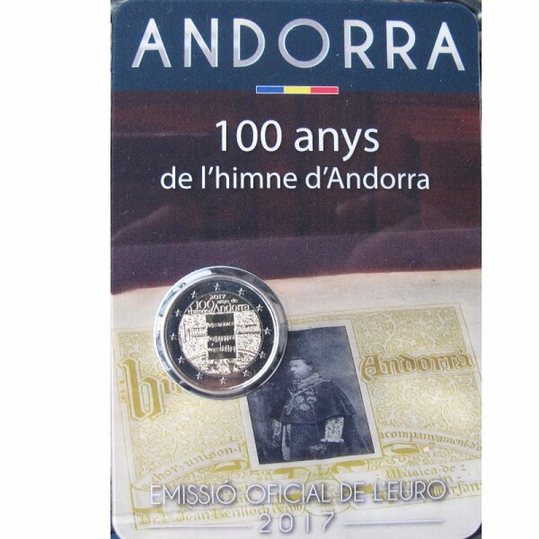 Andorra 2 Euro 2017 Nationalhymne