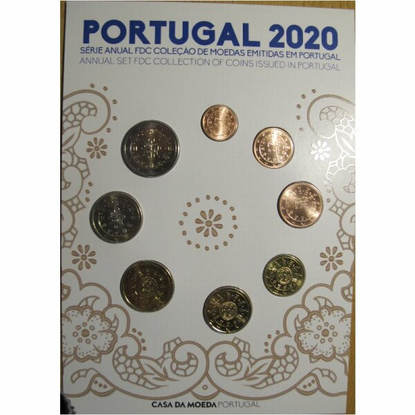 Portugal KMS 2020 FDC / lose 3,88 Euro