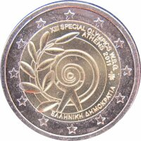 Griechenland 2 Euro 2011 Special Olympics